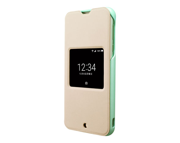 SHV37 AQUOS View Flip Cover