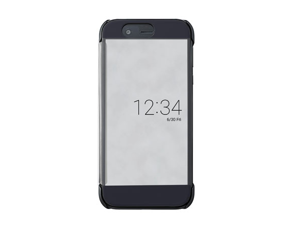 AQUOS Frosted Cover for AQUOS R SHV39/マーキュリーブラック