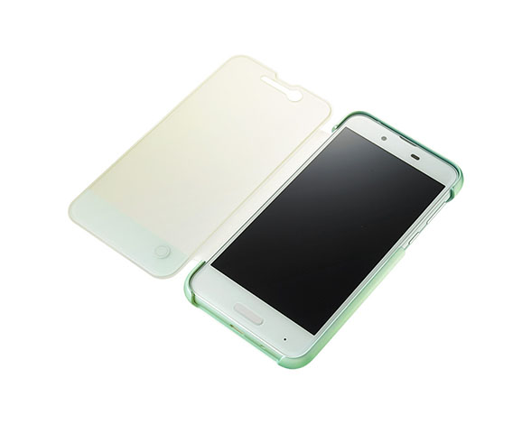 AQUOS Frosted Cover for AQUOS sense SHV40/Opal Green 4