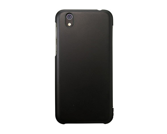 AQUOS Frosted Cover for AQUOS sense SHV40/Velvet Black 2