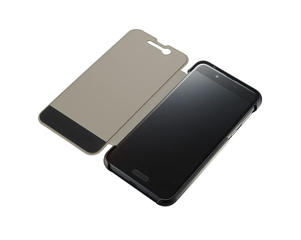 AQUOS Frosted Cover for AQUOS sense SHV40/Velvet Black 4