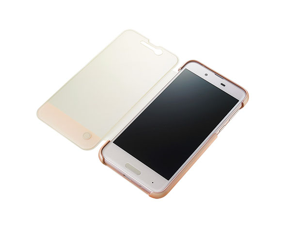 AQUOS Frosted Cover for AQUOS sense SHV40/Misty Pink 4