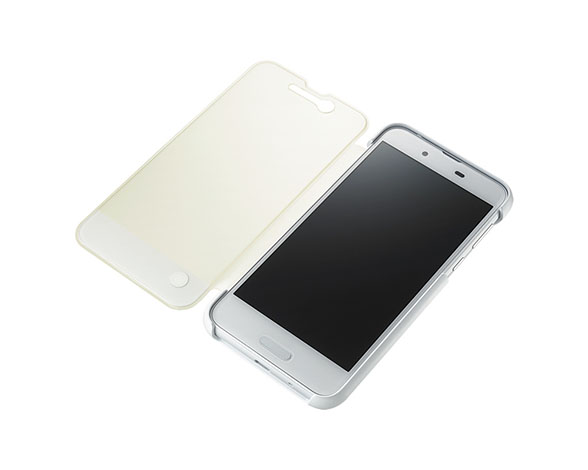 AQUOS Frosted Cover for AQUOS sense SHV40/Silky White 4