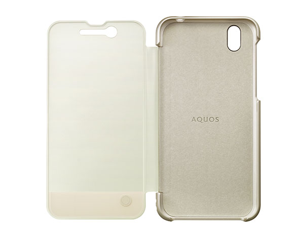 AQUOS Frosted Cover for AQUOS sense SH-01K /シャンパンゴールド ASH79696 3