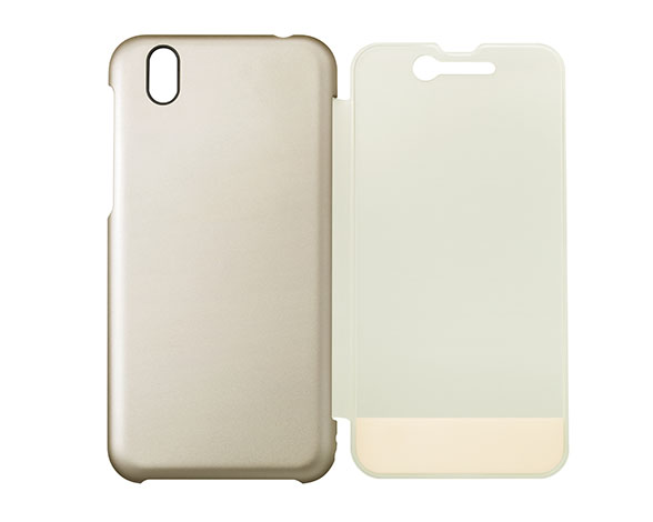 AQUOS Frosted Cover for AQUOS sense SH-01K /シャンパンゴールド ASH79696 4