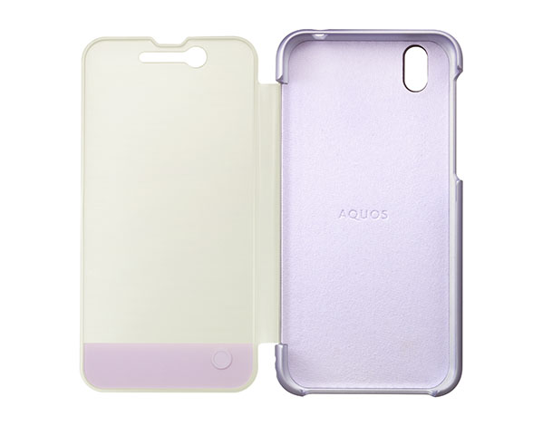 AQUOS Frosted Cover for AQUOS sense SH-01K /フロストラベンダー ASH79700 3