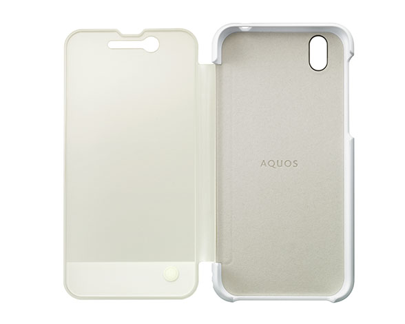 AQUOS Frosted Cover for AQUOS sense/AQUOS sense lite  シルキーホワイト 3