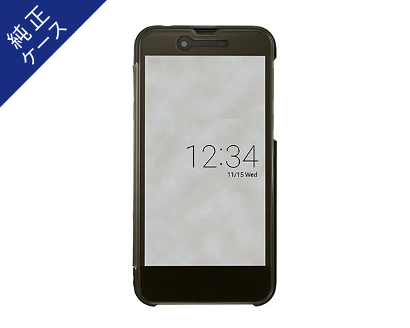 AQUOS Frosted Cover for AQUOS sense SHV40/Velvet Black 1