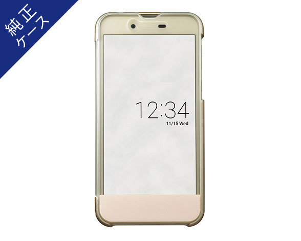 AQUOS Frosted Cover for AQUOS sense SH-01K /シャンパンゴールド ASH79696 1