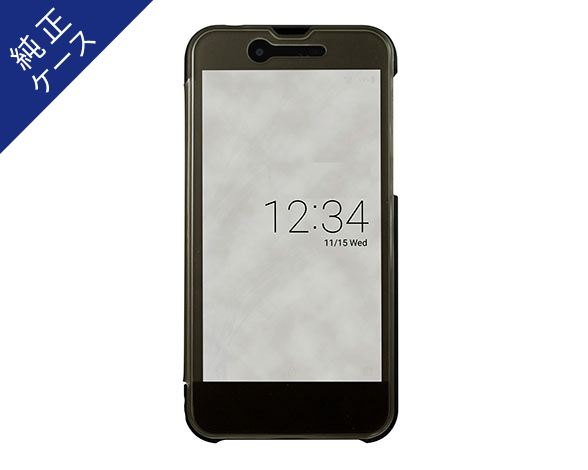 AQUOS Frosted Cover for AQUOS sense SH-01K /ベルベットブラック 1