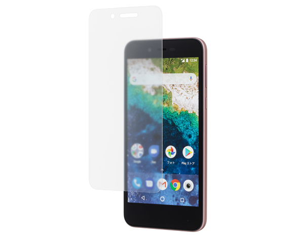 SoftBank SELECTION 衝撃吸収 反射防止保護フィルム for Android One S3