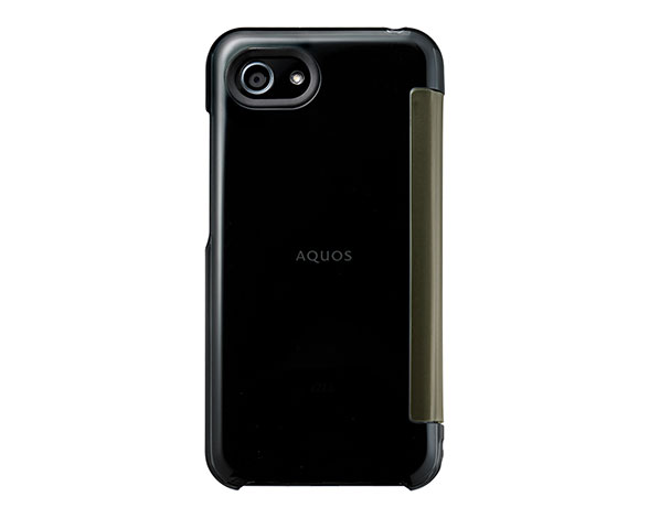 AQUOS Frosted Cover for AQUOS R compact SHV41/Clear Black 2