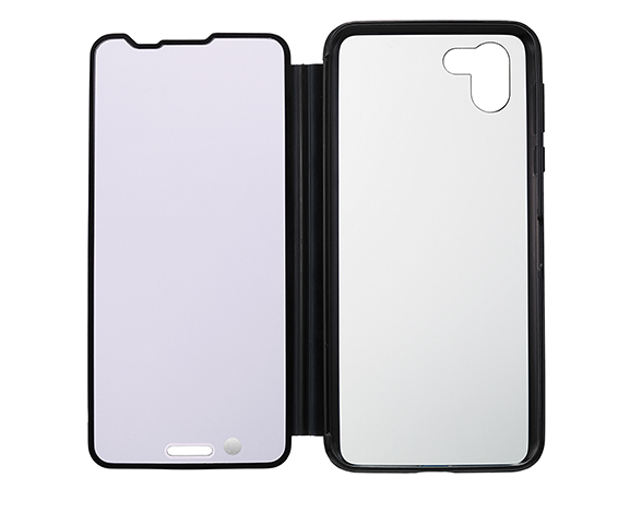 AQUOS Frosted Cover for AQUOS R2 SH-03K K/プレミアムブラック 4