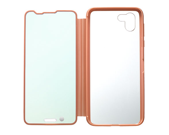 AQUOS Frosted Cover for AQUOS R2 SH-03K P/コーラルピンク 4