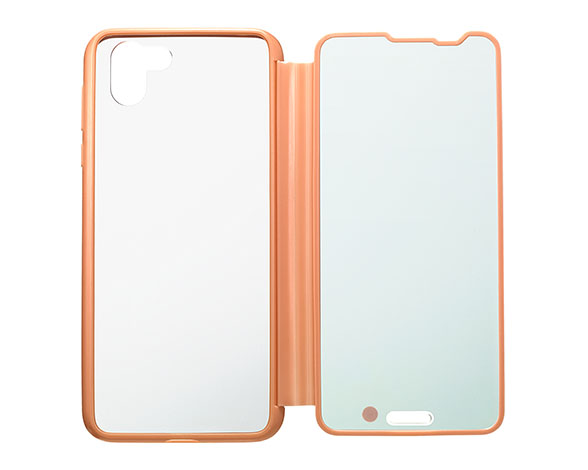 AQUOS Frosted Cover for AQUOS R2 SH-03K P/コーラルピンク 5