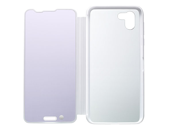 AQUOS Frosted Cover for AQUOS R2 SH-03K W/プラチナホワイト 4