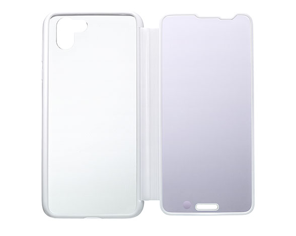 AQUOS Frosted Cover for AQUOS R2 SH-03K W/プラチナホワイト 5