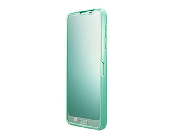 AQUOS Frosted Cover for AQUOS R2/Aquamarine 5