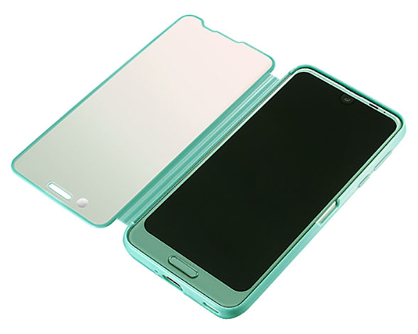 AQUOS Frosted Cover for AQUOS R2/Aquamarine 3