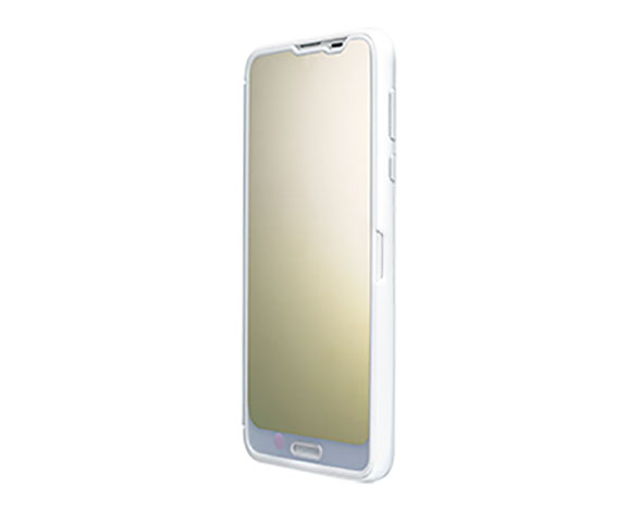 AQUOS Frosted Cover for AQUOS R2/Platinum White 5