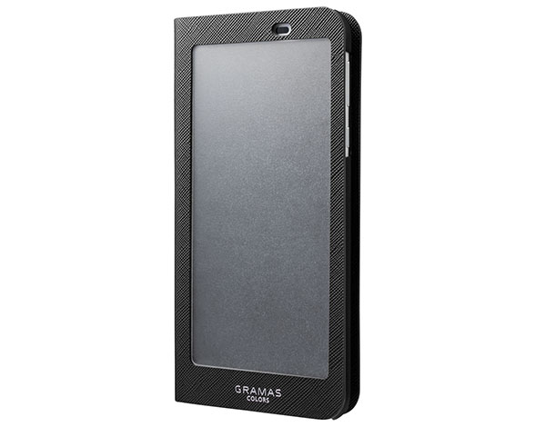 """EURO Passione"" Frosted Book Case for AQUOS sense plus 4"