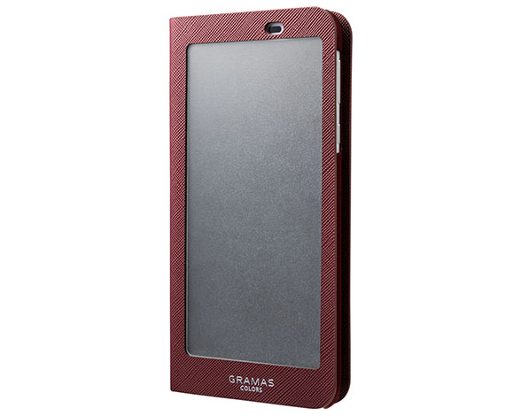"""EURO Passione"" Frosted Book Case for AQUOS sense plus 2"