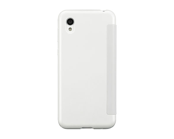 AQUOS Frosted Cover for AQUOS sense2 SHV43/Silky White 2