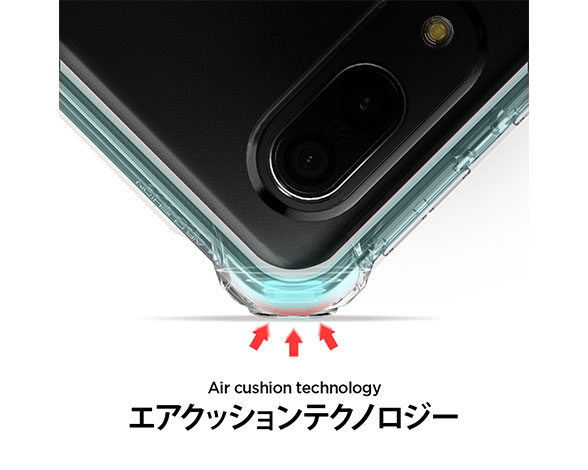 AQUOS sense3 / Sense3 lite / Android One S7 Rugged Crystal Crystal Clear 3