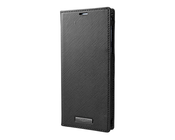 EURO Passione PU Leather Book Case for AQUOS sense3 plus BLK