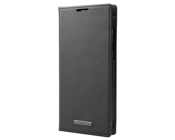 EURO Passione PU Leather Book Case for AQUOS zero2 BLK