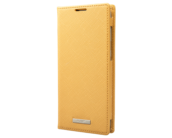 EURO Passione PU Leather Book Case for AQUOS zero2 YLW 1