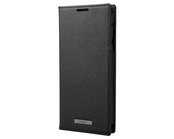 EURO Passione PU Leather Book Case for AQUOS R5G BLK