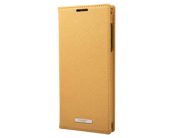 EURO Passione PU Leather Book Case for AQUOS R5G YLW